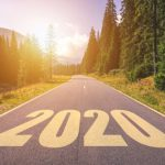 2020 written on the road